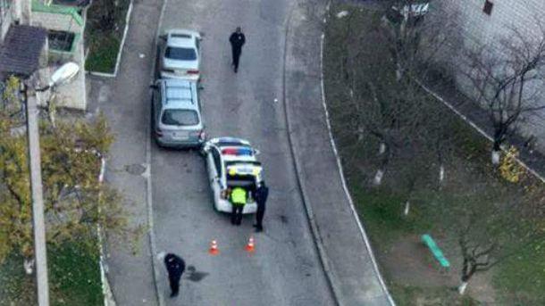Авария с участием патрульных