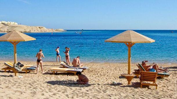 Пляж у Єгипті