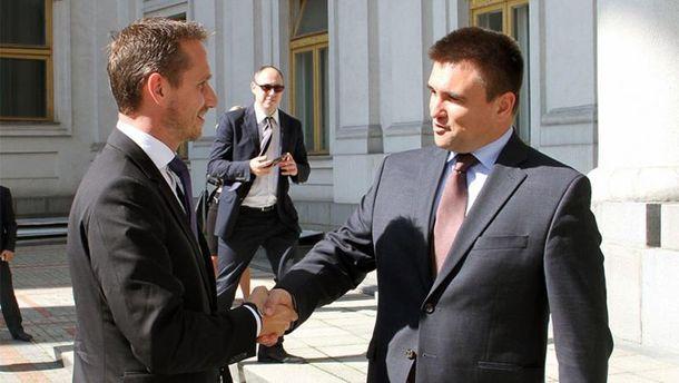 Кристиан Йенсен и Павел Климкин
