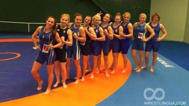 Женская сборная Украины по борьбе