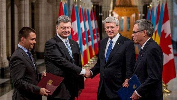 Петро Порошенко у Канаді