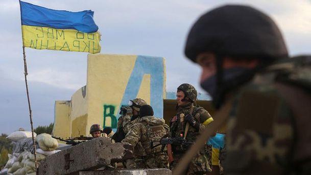 Мотузяник: Взоні АТО задобу загиблих немає, четверо військових поранені