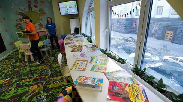 Дитяча кімната у Верховній Раді