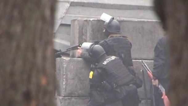 Правоохоронці зі зброєю