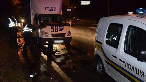 НаХарківщині таксист збив поліцейського і втік