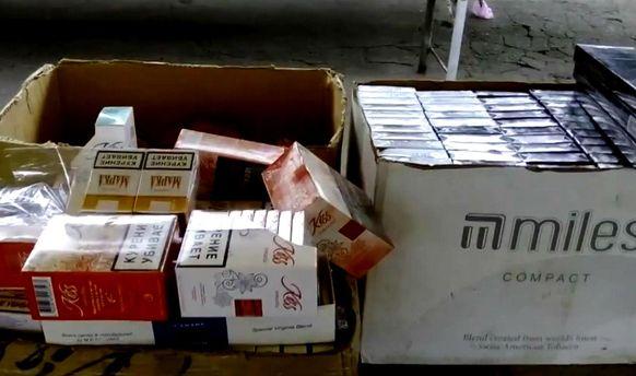 Нелегальный табак