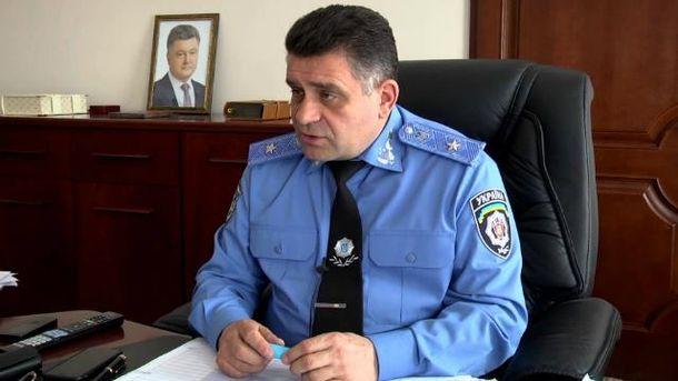 Водія начальника київської поліції оштрафували запорушення ПДР