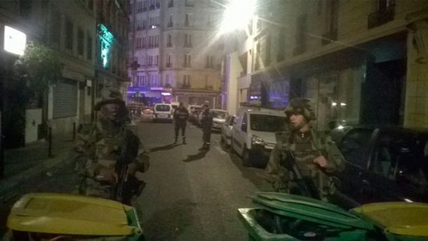 Стрілянина в Парижі