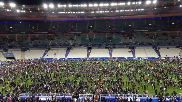После матча Франции и Германии
