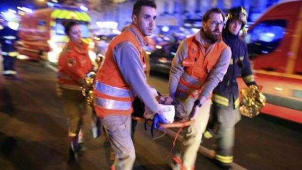 Серия терактов в Париже