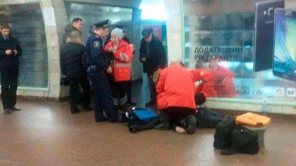 Чоловік помер у метро