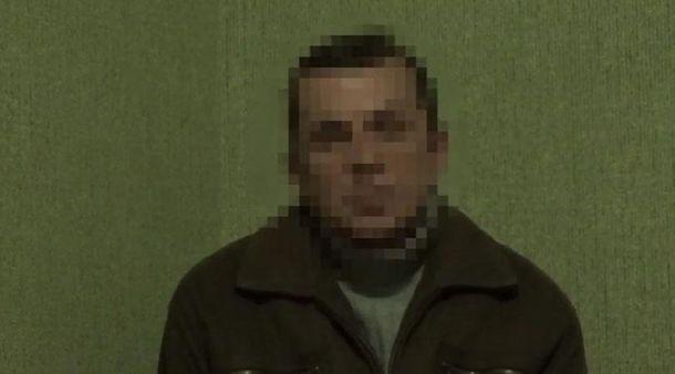 Задержанный террорист
