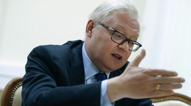 Заместитель Лаврова Сергей Рябков