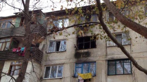 Пожежа у Севастополі