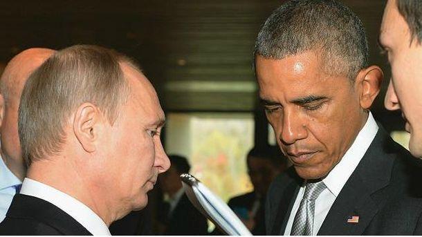 Путін и Обама