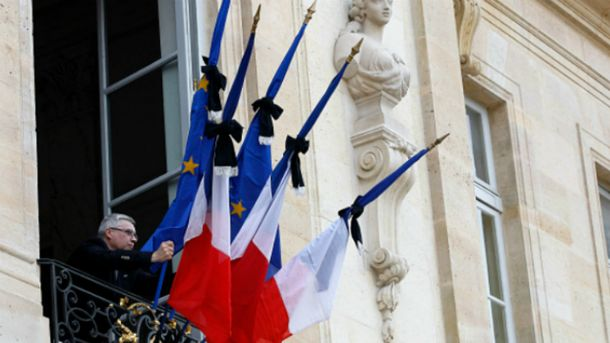 Во Франции трехдневный траур