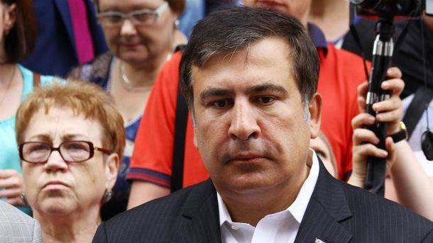 Украинцы обязаны поставить украинский флаг, — Саакашвили о флешмобе в Facebook