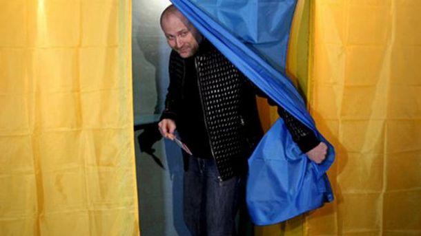 Борислав Береза проголосовал