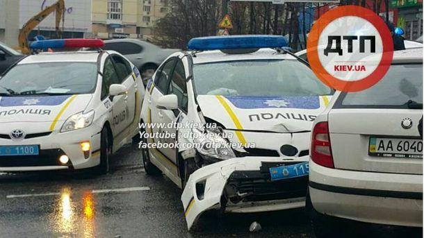 ДТП с участием полиции