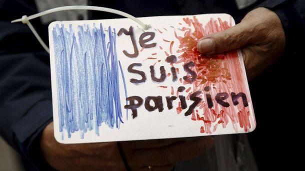 Картинка о теракте в Париже