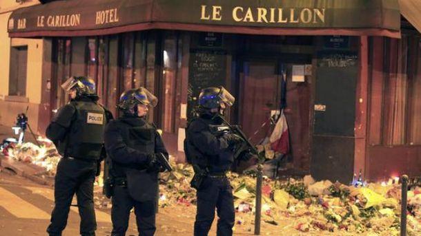 Полиция патрулирует улицы Парижа