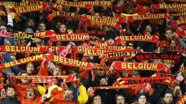 Вболівальники збірної Бельгії