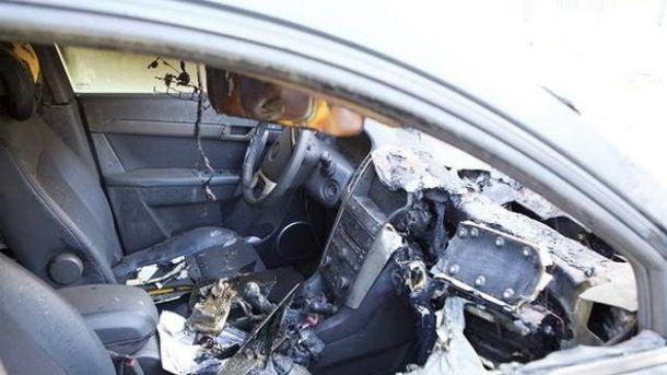 Сожгли авто депутата