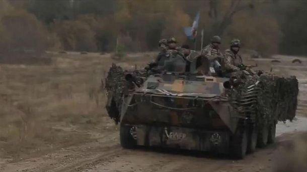 Десантники із 95-ї бригади на тренуванні