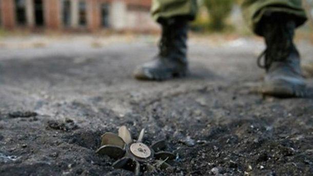 Военные подорвались в зоне АТО