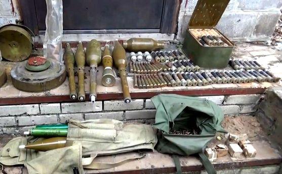 Оружие российских боевиков