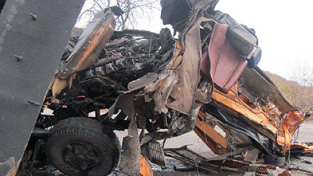 Авария в Луганской области
