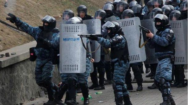 ГПУ: Бійці спецроти Беркута розстрілювали протестувальників на Інститутській