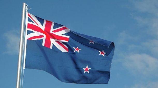 Действующий флаг Новой Зеландии