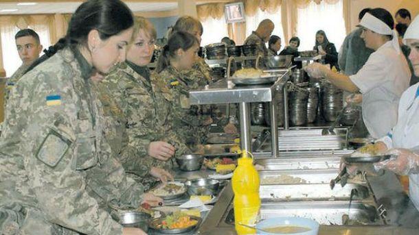 Военная столовая