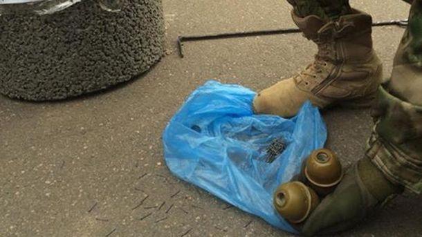 На протесте в Кривом Роге нашли гранаты