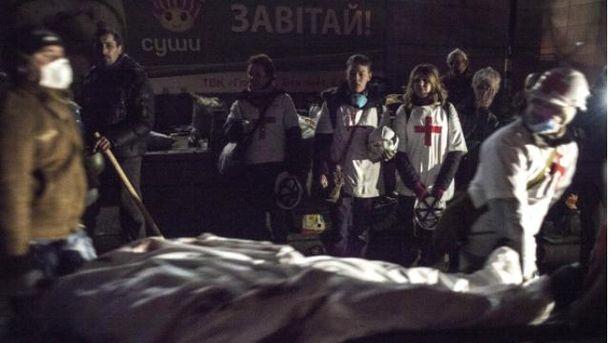Медики на Майдане спасали активистов