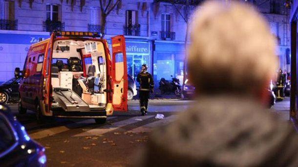 Париж в день теракта