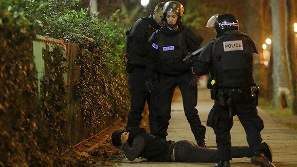 Полиция в Париже