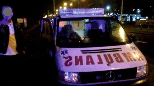 Место инцидента во Львове