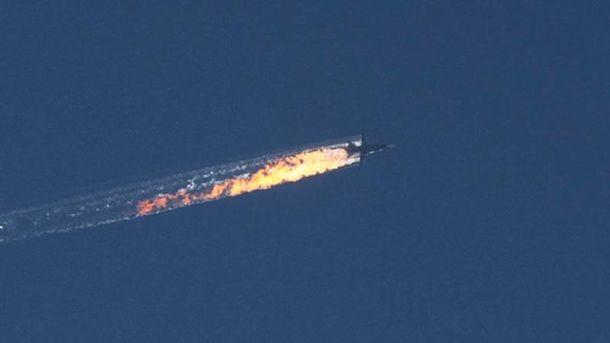 Збитий російський Су-24