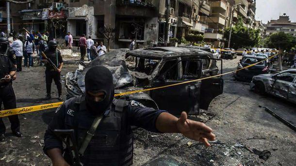 На місці вибуху у Єгипті