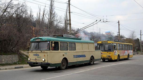 Тролейбус у Криму