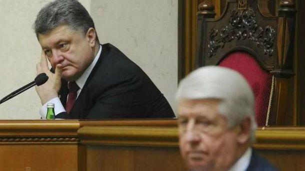 Порошенко пропонує позбавити Раду права висловлювати недовіру генпрокурору