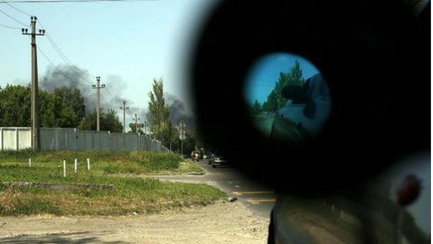 Штаб АТО: Бойовики ведуть обстріл зРСЗВ внапрямку Горлівки