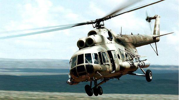 УРосії розбився вертоліт