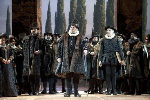 Евгений Орлов в опере