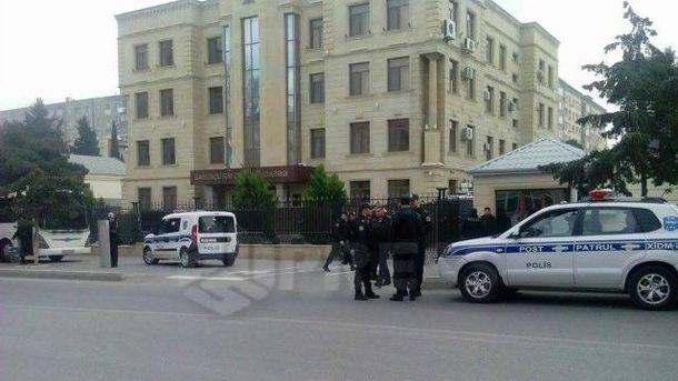 Зіткнення в Баку