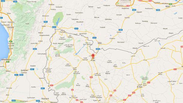 Россия бомбордировала город под Турцией