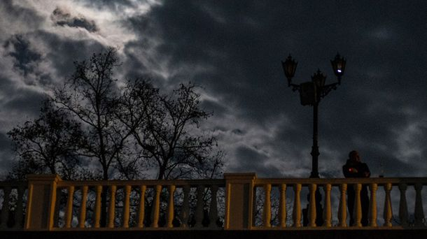 Крым во тьме