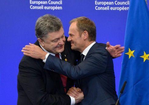 Петро Порошенко и Дональд Туск